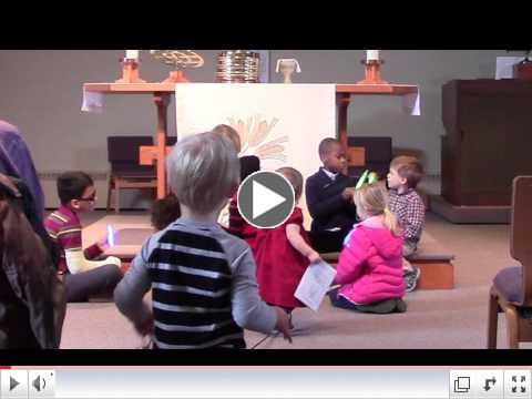 Children's Sermon: Glowstick Jesus