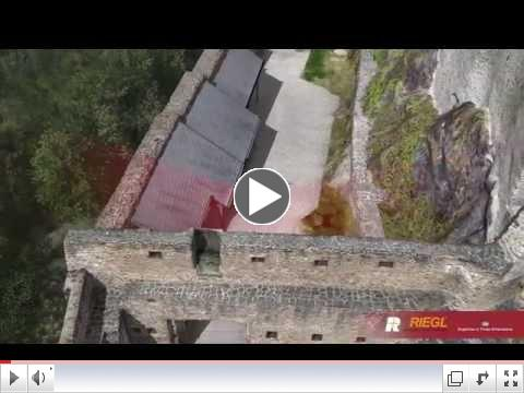 RIEGL's RiCOPTER UAV at Castle Vianden (Luxembourg)!