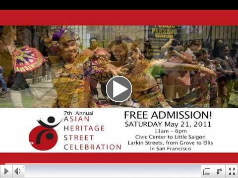 Asian Heritage Street Celebration 2011 Commercial