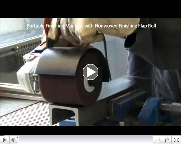Nonwoven Flap Rolls