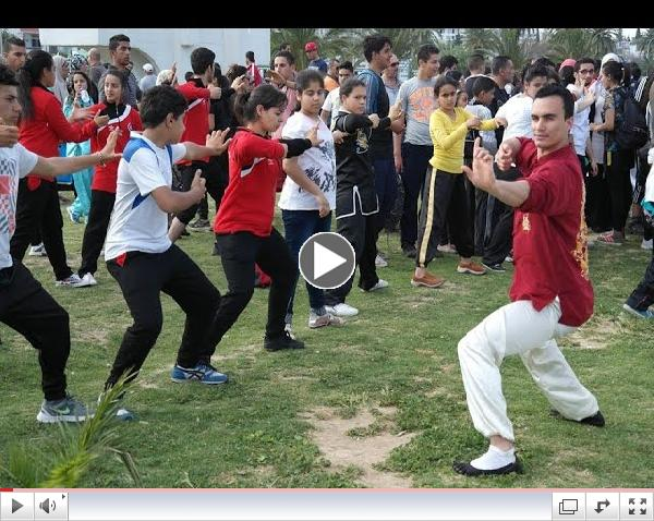 WORLD TAI CHI/QIGONG  DAY  In Tunisia (April 25th 2015)