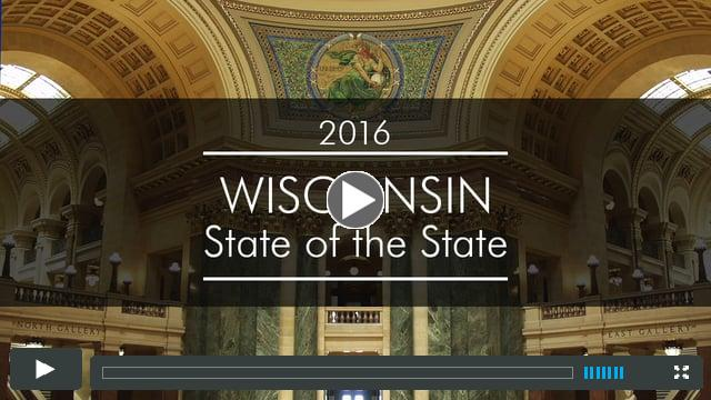 2016 Wisconsin State of the State Address