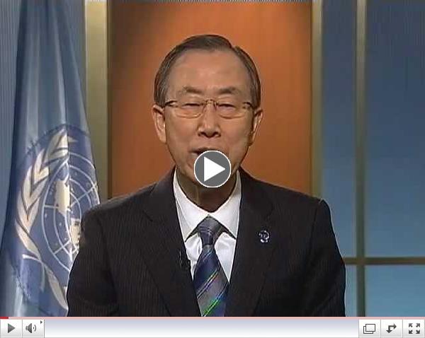 Ban Ki-moon - 1,000 Days to the Deadline of the Millennium Development Goals