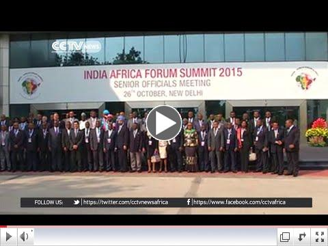 India hopes for stronger ties with Africa ahead of India-Africa Summit/ CCTV