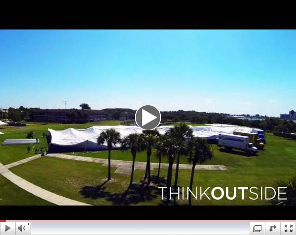 Eckerd College Commencement Tent