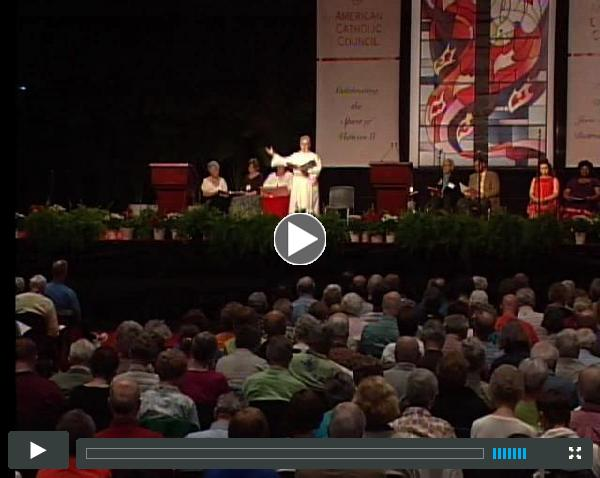 Opening ?Lament Prayer? at the American Catholic Council