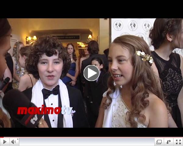 Caitlin Carmichael and Julian Feder INTERVIEW 2014 Young Artist Awards