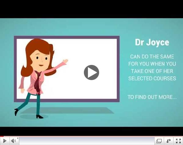 Dr Joyce Knudsen - Portfolio Offer