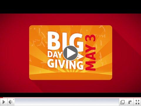 HOW to give on the BIG Day of Giving.