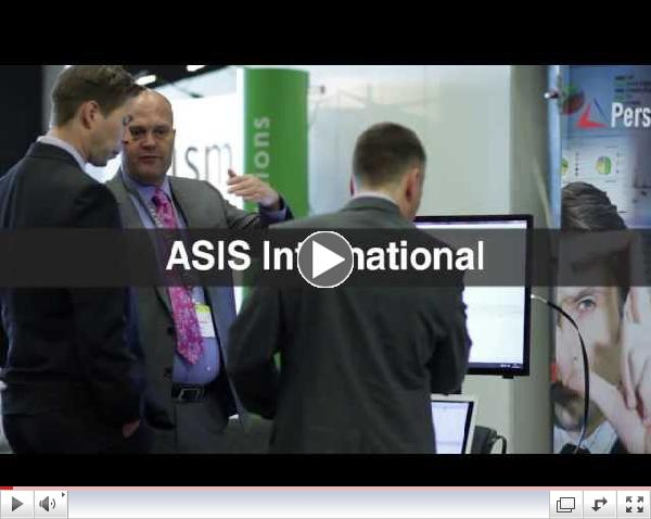 Highlights from the 2013 ASIS European Security Conference & Exhibits