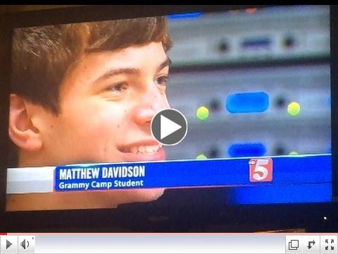 Grammy Camp Nashville -  Channel 5 News Feature - June 11, 2014