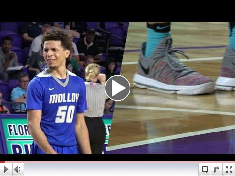 2017 City of Palms Classic | Cole Anthony drops 37