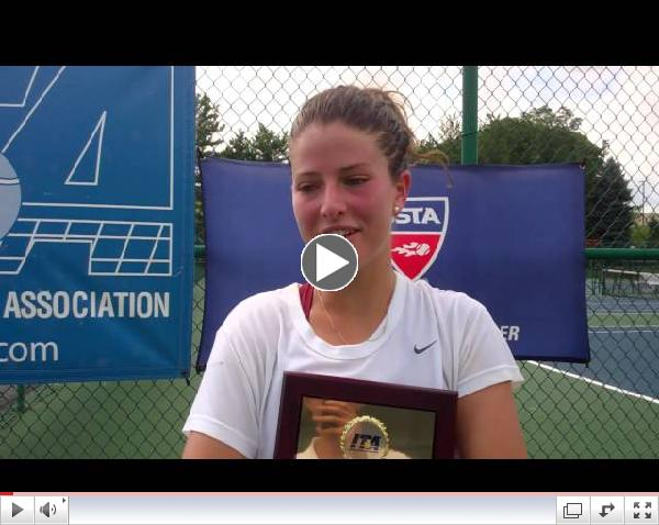 Women's Singles Champion: Natalia Maynetto, Alabama