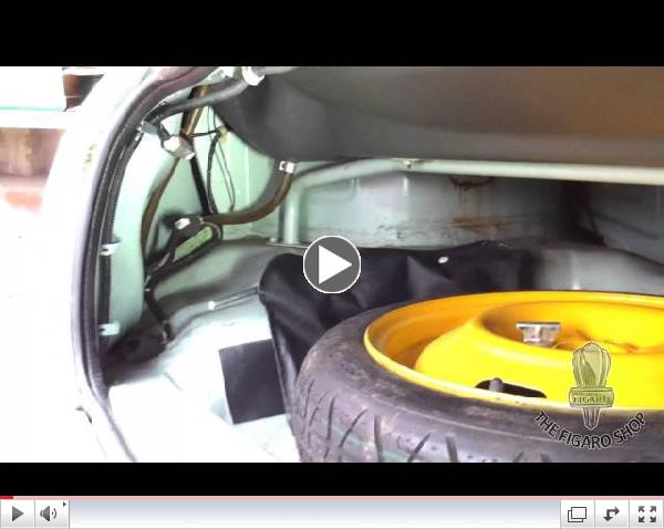 Nissan Figaro Hints and Tips, Flat Battery By The Figaro Shop