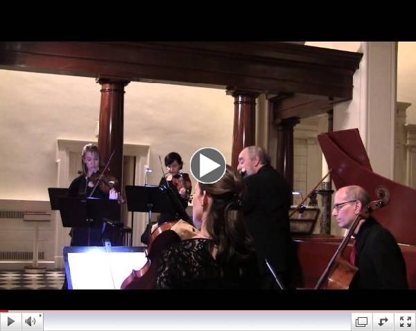 Corrette: Harpsichord Concerto w/ Flute (Pechefsky, Bolotowsky, Brooklyn Baroque)