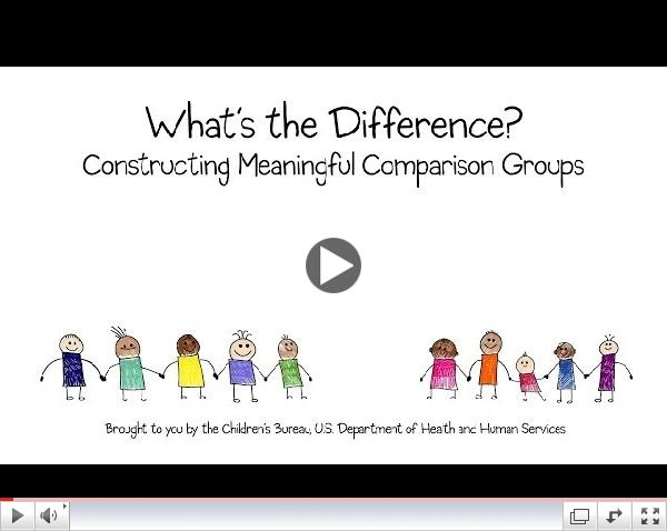 What's the Difference? Constructing Meaningful Comparison Groups