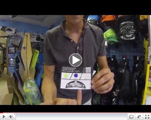 2015 Slingshot Rally Kiteboarding Kite