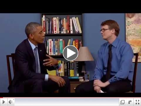 Hank Green interviews President Barack Obama 2015