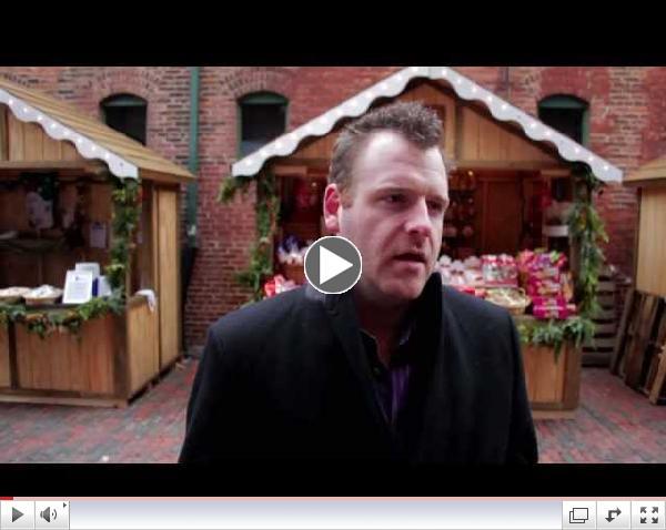Christmas Market in The Distillery District, Alex J Wilson