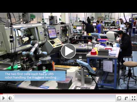 Universal Robots Double Production Output at Tegra Medical
