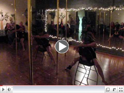 Christmas Pole Dance