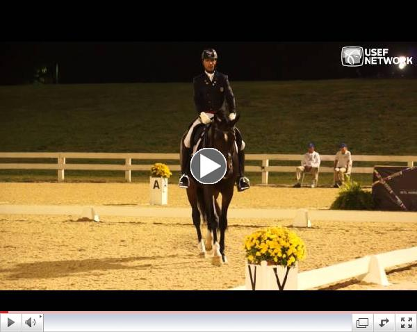 Steffen Peters and Legolas Grand Prix Freestyle at #DressageFOC