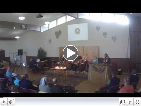 Rev. Nickel's sermon Sunday, November 23, 2016: The Great White Lie