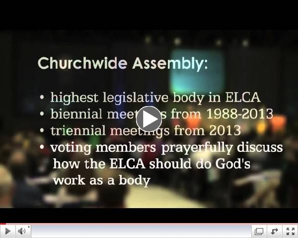 ELCA Voting Member Orientation 2013