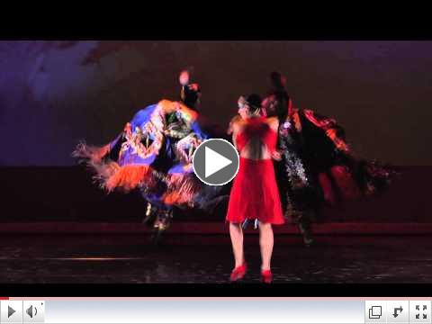 Northstar Dance Company 'Hummingbird' 2014*Guitar Strings