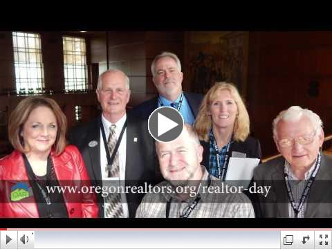 Mark Meek for REALTOR® Day at the Capitol