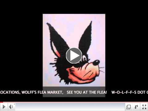 Wolff's Flea Market Jingle Words