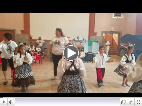 Tarantella - Group 1 - 2017 Summer Camp Final Day Presentation - July 21, 2017