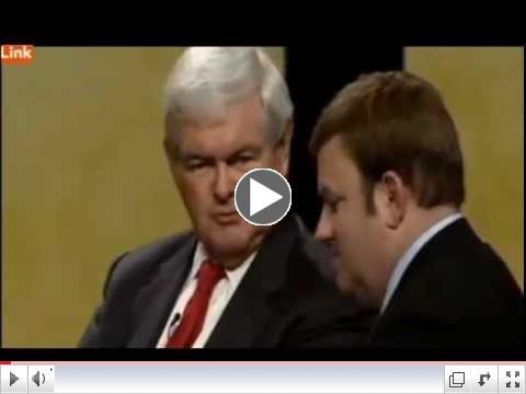 Gingrich: 'Go get a job right after you take a bath'