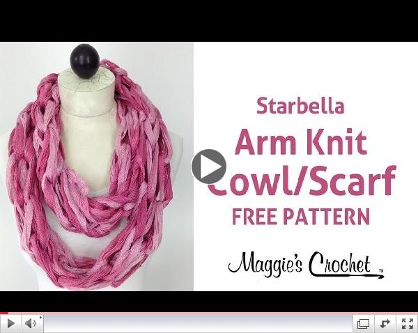 New Videos Learn To Arm Knit