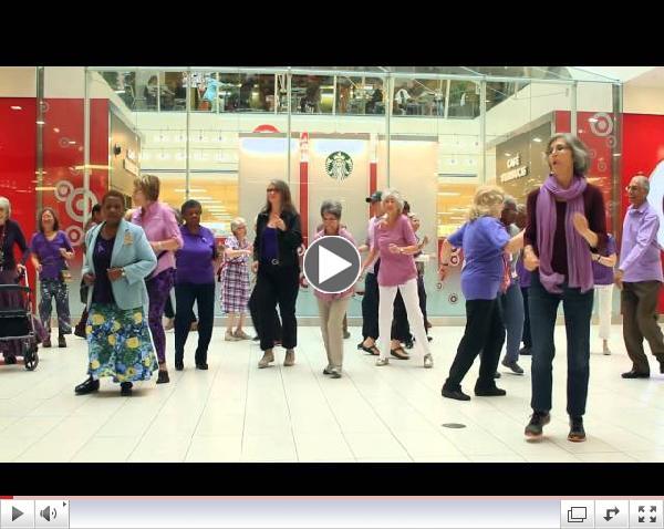 Flashmob WEAAD 2014