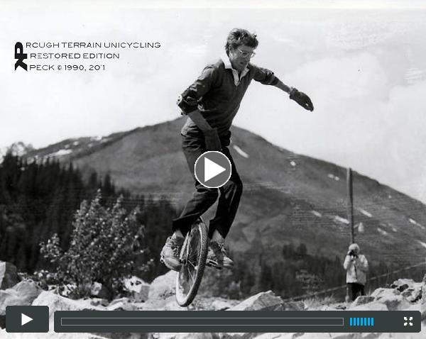 George Peck- Rough Terrain Unicycling