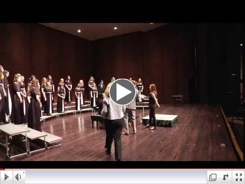 Treble Choir at UW Choral Festival May 11_ 2017