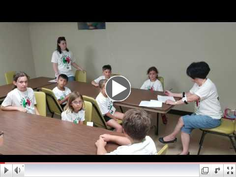 Casa Italia - Italian Language & Culture Summer Camp, Day 1, June 19, 2017 - Class Room