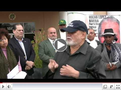 Freedom for Oscar Lopez Rivera video
