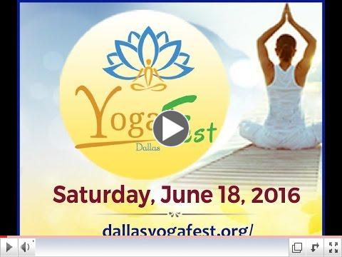 Watch Dallas YogaFest Promotional Video