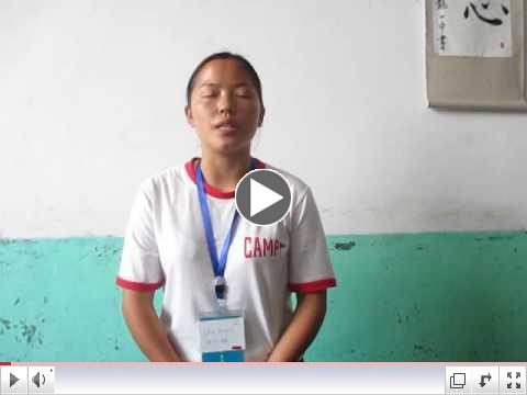 Chen Youmei needs a sponsor to give her tuition of $185 for her last year in high school