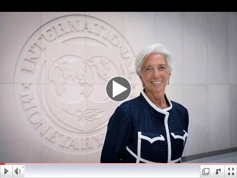 A Time To Repair the Roof, eftir Christine Lagarde framkvæmdastjóra IMF