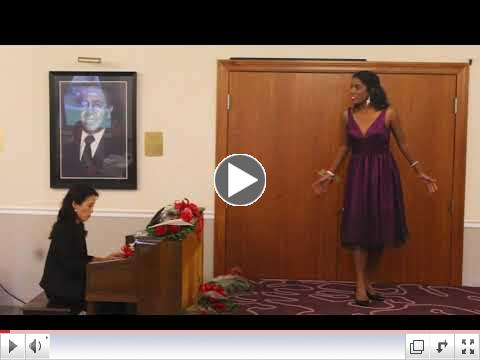 2017 Vocal Scholarship, November 12, 2017 Video of Joshepine L LiPuma Scholarship Winner