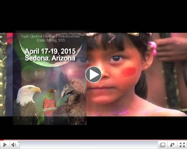 Eagle Quetzal Condor Confederation Gathering - Sedona, AZ 4-17-2015