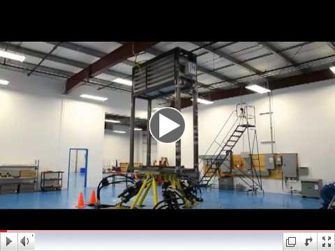 Dynamic V8 Air Cleaning System Earthquake Simulation