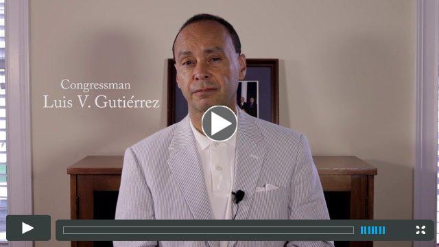 Congressman Luis Gutierrez Celebrates Clemente's 40th