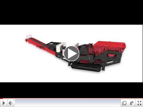 QJ341 Mobile Jaw Crusher 3D features animation