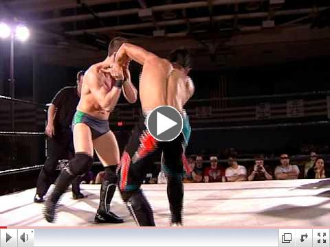 EVOLVE 3 With Claudio Castagnoli (Antonio Cesaro) vs. Chuck Taylor