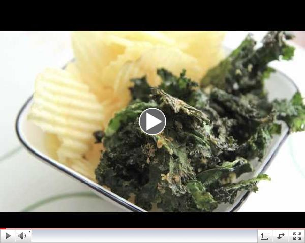 How to make Kale Chips in the oven