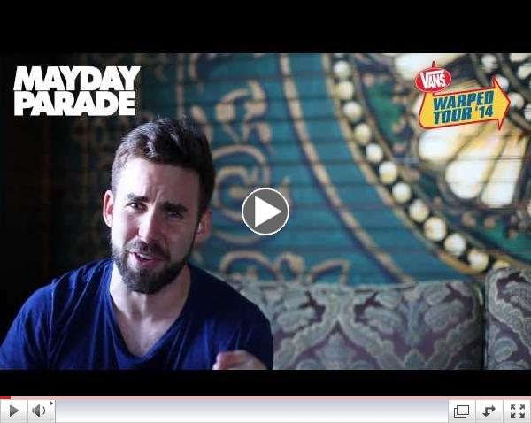 Mayday Parade - Vans Warped Tour 2014 Announcement